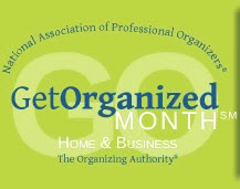Post image for Get Organized Month – What are you doing?